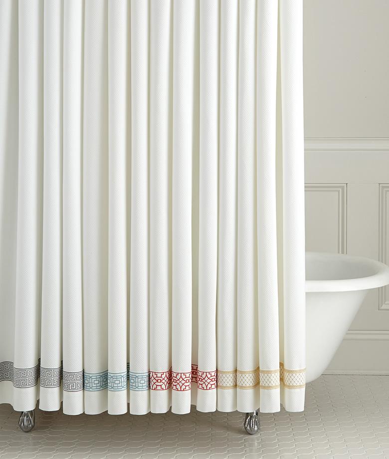 Shower Curtains Duet Shower Curtain